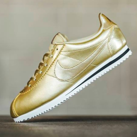 new arrival a8f97 8025a Nike Metallic Gold Cortez